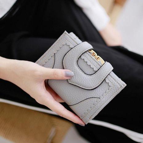Portefeuille creux litchi en dentelle coréenne NHNI150770's discount tags
