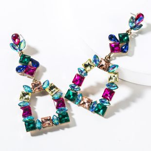 Colored Diamond Earrings NHJE151038's discount tags
