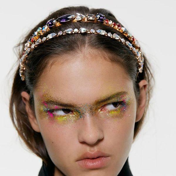 Alloy diamond fashion headband NHJQ151172