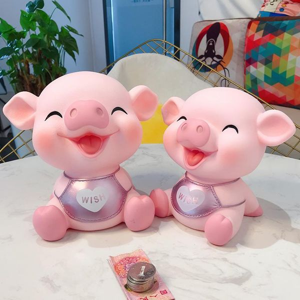 Piggy piggy bank zodiac boy little girl creative piggy bank wholesale NHBM193600