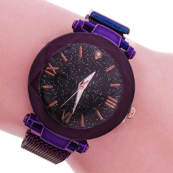 Versión coreana de un simple reloj casual para niñas NHMM193607