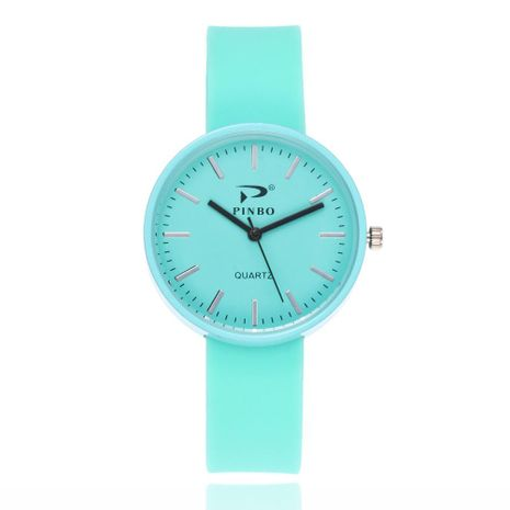 Candy-colored silicone watch Korean fashion student silicone watch sports watch wholesale NHSY193621's discount tags