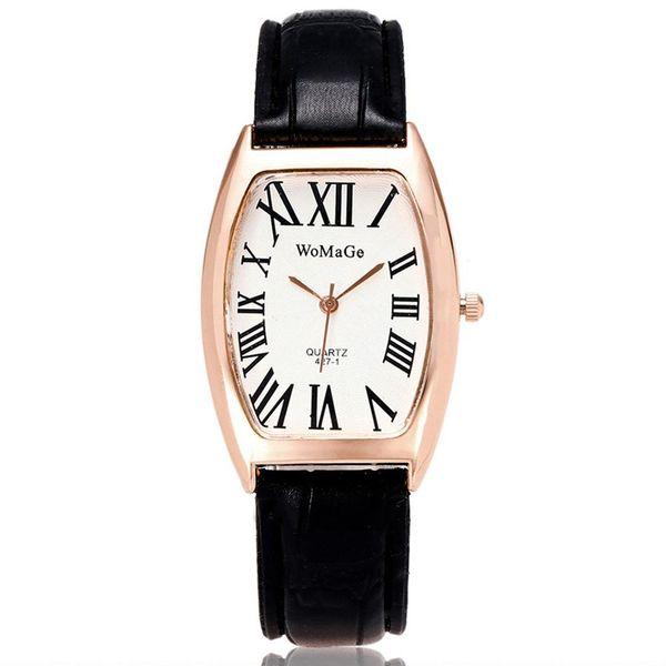 Korean fashion women's watch fashion hand watch Roman numeral quartz fashion watch NHSY193635