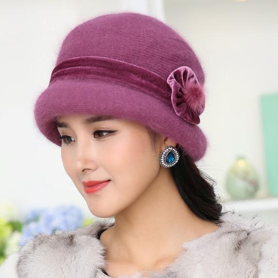Ladies mom hat warm hat wholesale NHHY193652