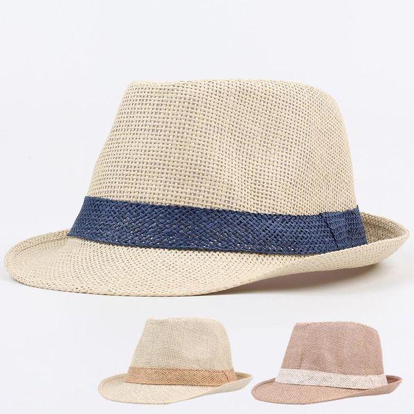Grass couple jazz top hat beach beach sun shade sun hat NHXO193756