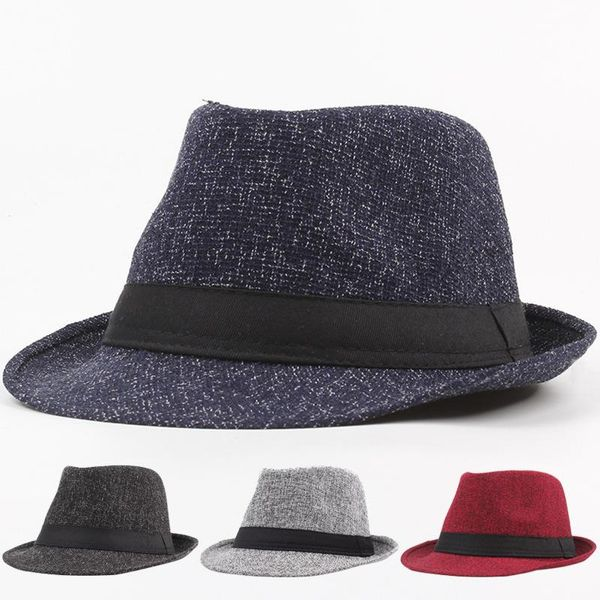 New imitation linen leisure straw hat Korean fisherman hat beach hat NHXO193759