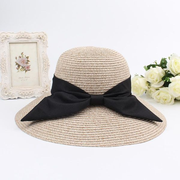 Summer Korean straw hat bowler hat sun hat NHXO193761