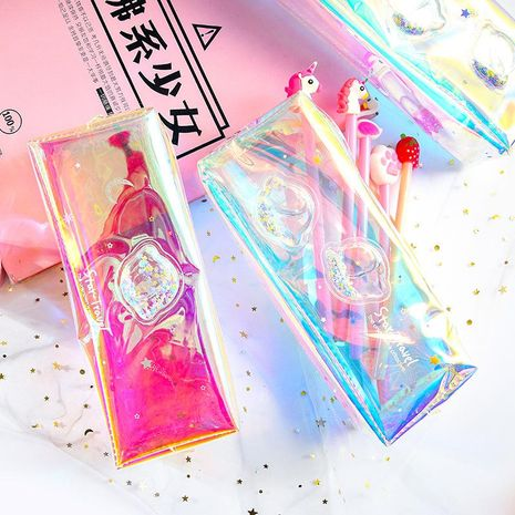 Pencil case creative cute large capacity pencil case student stationery wholesale NHHE193768's discount tags