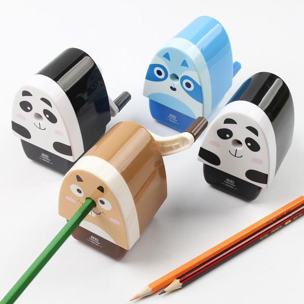 True color pencil sharpener cartoon cute pencil sharpener pencil sharpener hand-cranked child sharpener NHZE193819
