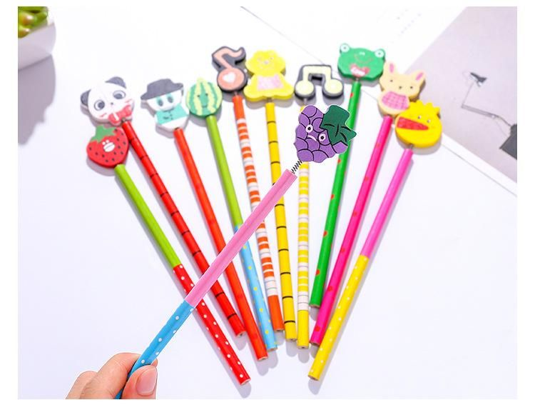 Korean creative stationery wooden pencil wholesale writing pen NHZE193822