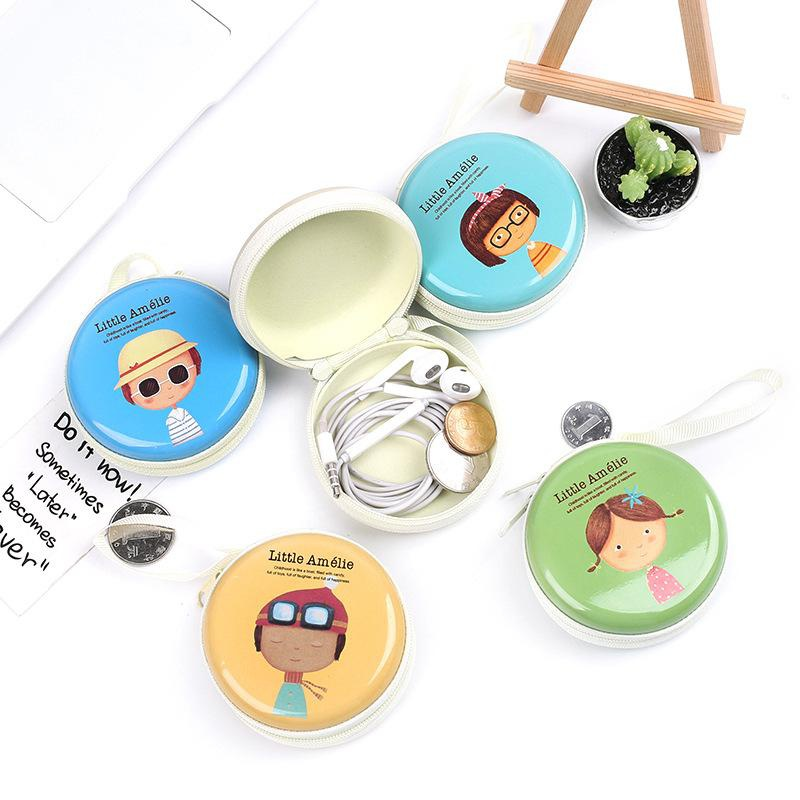 Mr. Beard Portable Coin Purse Korean Creative Coin Purse Korean Cute Coin Bag Cartoon Zipper Wholesale NHZE193832