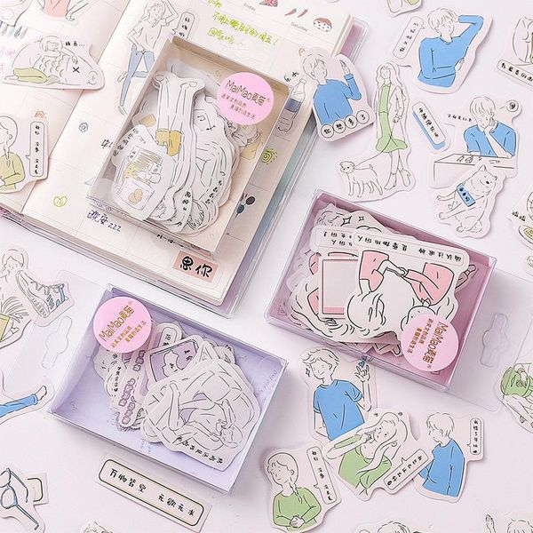 Hand account stickers Korean stickers pack cartoon small fresh cute decorative stickers hand account NHZE193838