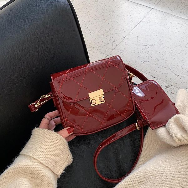 Lingge solid color female pouch NHLD193921
