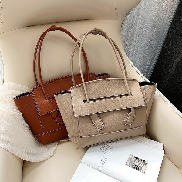 Women's new fashion catfish bag solid color shoulder bag NHLD193943