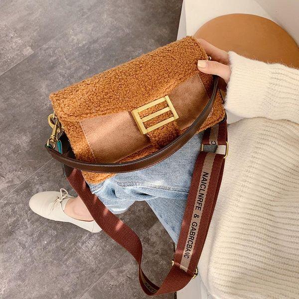 Simple stitching small bag women handbag NHLD193945