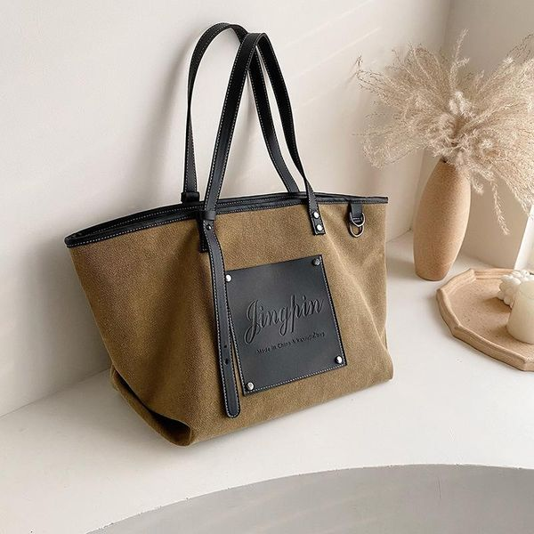 Winter new shoulder bag large capacity printed women's bag handbag NHLD193984