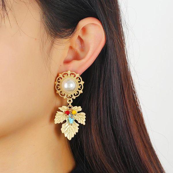Temperament Fashion Stud Earrings Personality Asymmetric Earrings Ear Jewelry NHKQ194144