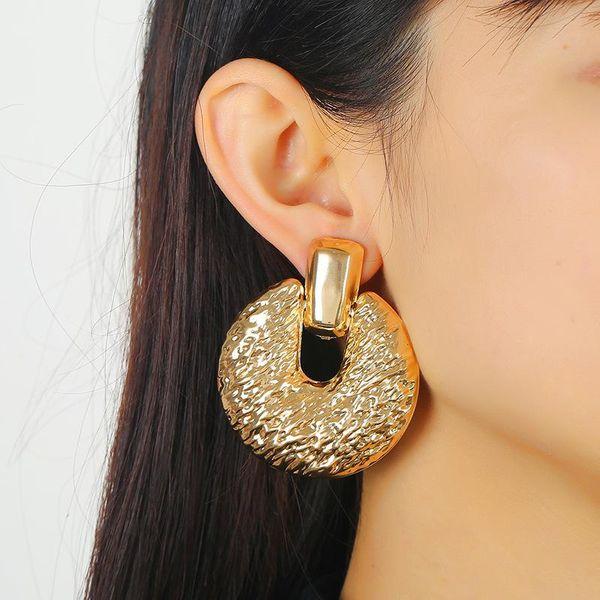 Fashion retro hollow earrings women's earrings wholesale NHKQ194151