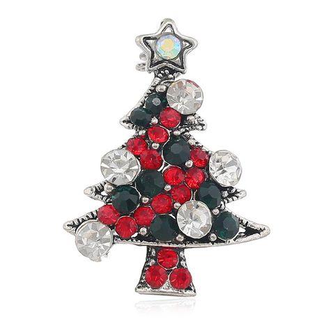 Vintage cristal árbol de Navidad delicado broche regalo creativo exquisito pin accesorios de joyería NHKQ194166's discount tags