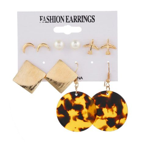 Bohemian Long Vintage Zircon Stud Earrings NHKQ194171's discount tags