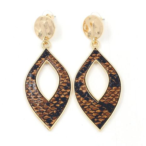 Boucles d'oreilles en cuir PU NHHM194395's discount tags
