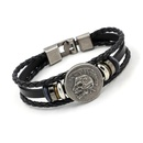 Jewelry indian skull leather bracelet beaded leather men39s bracelet wholesale NHHM194433