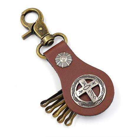 Nuevas pegatinas creativas llavero exquisito pequeño regalo punky colgante llavero personalizado para hombres NHHM194469's discount tags