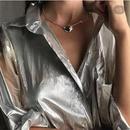 Elegant choker fine chain necklace double hook chain snake bone chain NHYQ194559
