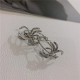 NHYQ535919-Spider-Earrings-+-925-Silver-Pins