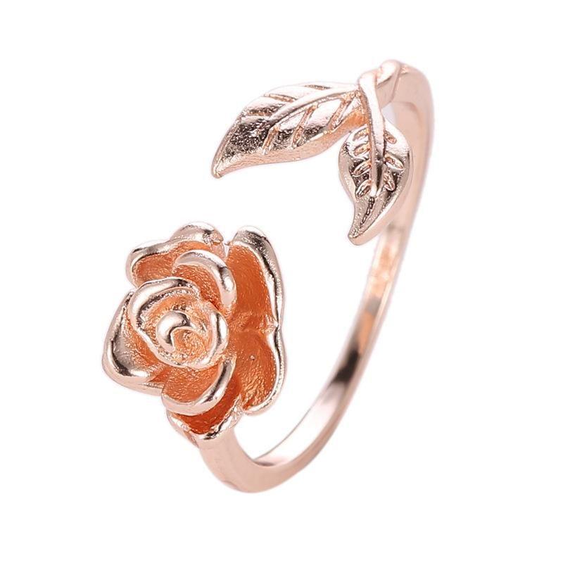 Vintage rose ring wholesales fashion NHCU194924