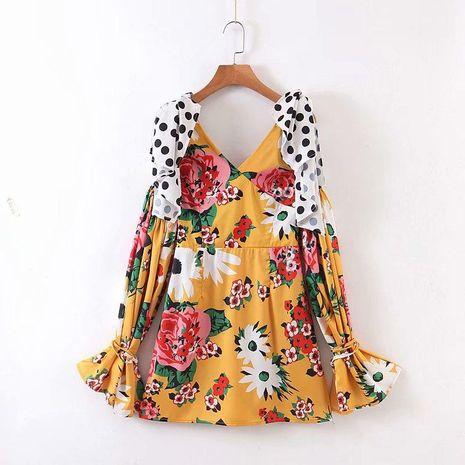 Vestido de manga larga al por mayor de moda NHAM194984's discount tags