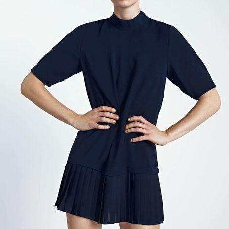 Vestido de falda plisada de invierno al por mayor de moda NHAM195115's discount tags