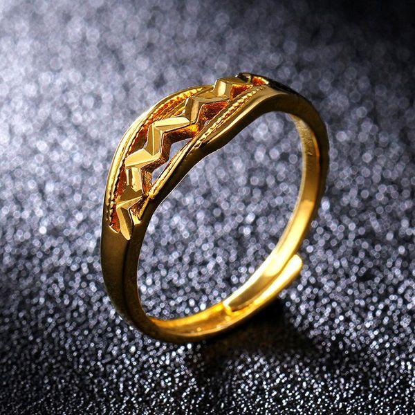 18KGP imitation gold ring NHIM195205