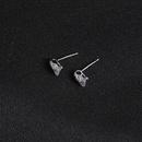 New Korean fashion inlaid zircon earrings simple fashion earrings ladies earrings gifts wholesale NHLJ195215