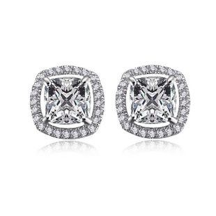 Korean version of zircon earrings simple fashion studs wholesale NHLJ195231's discount tags