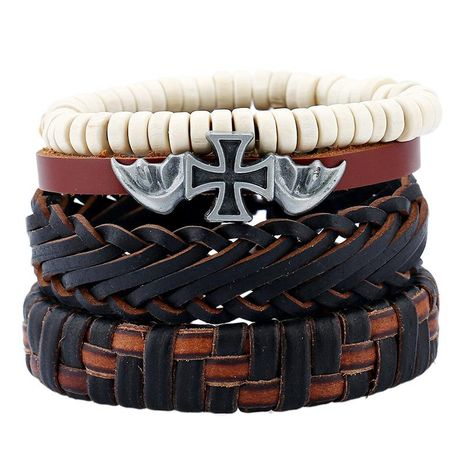 Explosive cowhide suit men's bracelet NHPK195298's discount tags