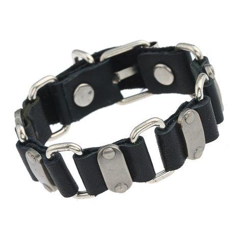 Bracelet de connexion en peau de vache NHPK195299's discount tags