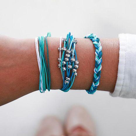 Joyas vintage cuerda tejida a mano cuerda cuerda pulsera pulsera cuerda cuerda set pulsera NHGY195413's discount tags
