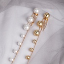 New Pearl Hair Clip Beaded Long Fringe Hair Bun NHJJ195427