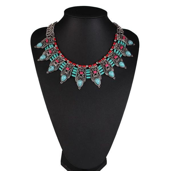 Necklace Fashion Resin Short Clavicle Chain Women's Accessories Wholesale NHJQ195439