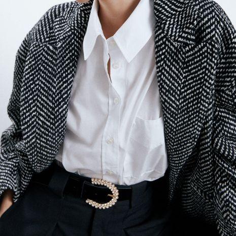 Alliage diamant ceinture coréenne nouvelle ceinture accessoires de manteau de mode NHJQ195441's discount tags