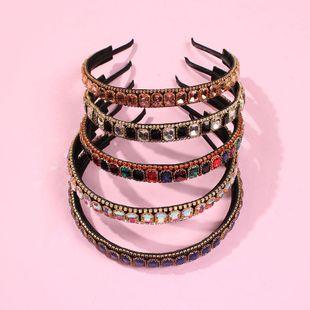 Headband Light Luxury Diamond Hair Accessories Hot Selling Alloy Exaggerated Headband NHMD195448's discount tags