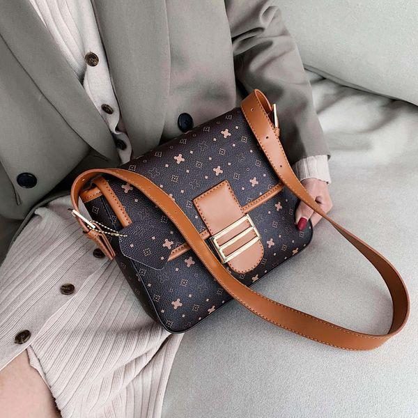 Presbyopia bag women's messenger bag atmospheric fashion shoulder small square bag NHTC195459