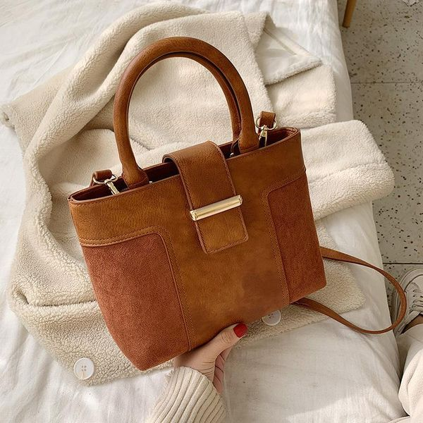 Autumn and winter small bags women messenger handbags fashion simple small square bag NHTC195515