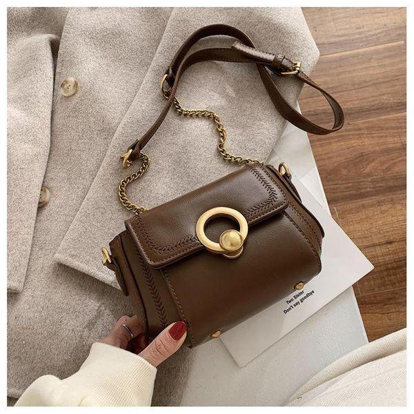 Women's New Korean Messenger Bag Fashion Chain Bag Shoulder Bag NHTC195549