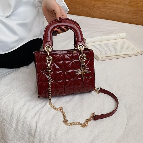 Women's new trendy Korean wild messenger bag chain handbag NHTC195551