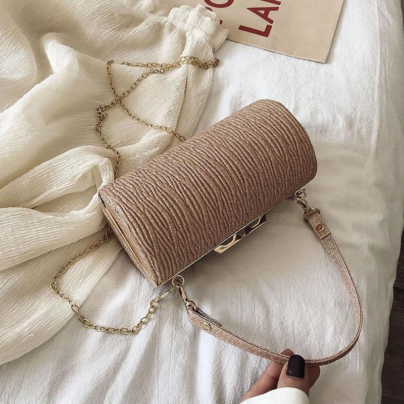 Nuevo bolso de mensajero para mujer Bolso de hombro de cadena de moda coreana NHTC195557