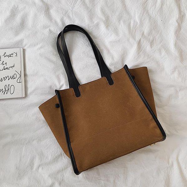 Large capacity handbags women winter new fashion simple shoulder bag NHTC195629