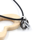Ring Necklace Leather Rope Ring Pendant Pendant Accessories Jewelry Gift NHHM195678