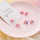 Earrings mini Q cute funny cute pig earrings NHMS195702